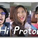LEONA AND LUQMAN PODOLSKI AND VIKRAM TEST X70 – HI PROTON