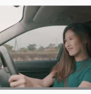 LEONA APPEARS IN CHILD SEAT ADVERT